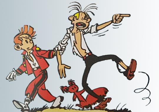 Bad Boys vs Good Boys en  Bandes Dessinées