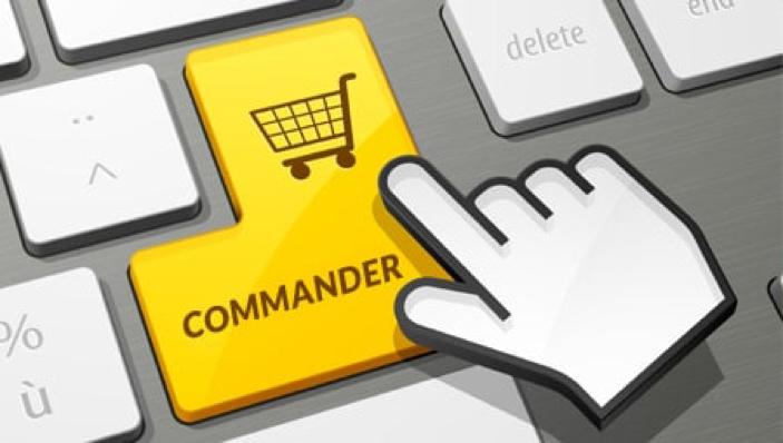 Comment passer une commande en ligne sur le site de la Lib. Stephan