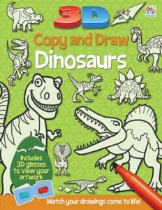 3D Copy And Draw Dinosaurs