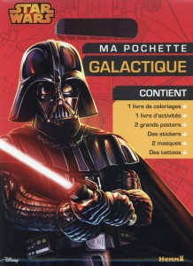 Disney ; star wars ; ma pochette galactique