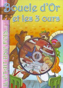 Boucle D'Or Et Les 3 Ours+Cd